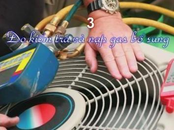 nạp gas bổ sung