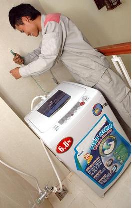Sửa máy giặt tại Long Biên