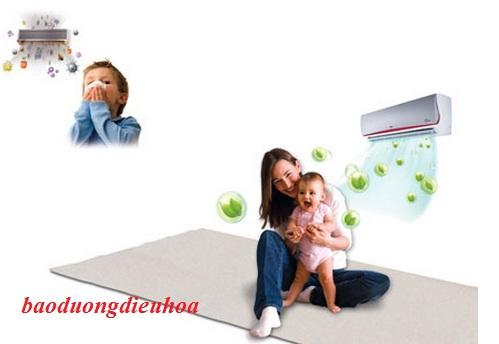 Sử dung điều hòa đúng cách cho trẻ không bị ốm