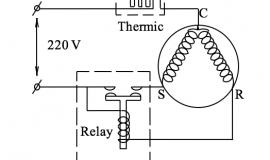 Cấu tạo hoạt động của rơle nhiệt (thermic, rơle bảo vệ) máy nén